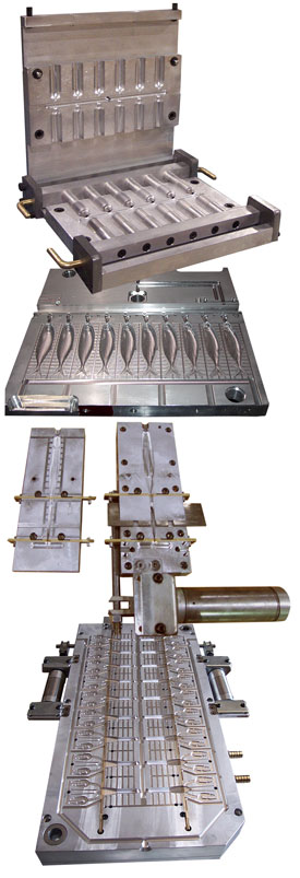 Products molds for Fishing lure molds